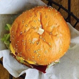 Photo of menu item: Chick P Cheeseburger
