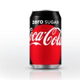 Photo of menu item: Coke No Sugar can