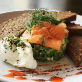 Photo of menu item: Cured Salmon