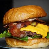 Photo of menu item: All Star Burger