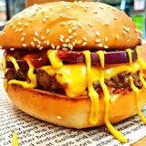 Photo of menu item: American Style Cheese Burger