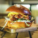 Photo of menu item: Cheeky Chicken Burger