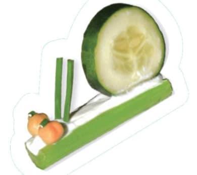 Cucumber Celery Snails