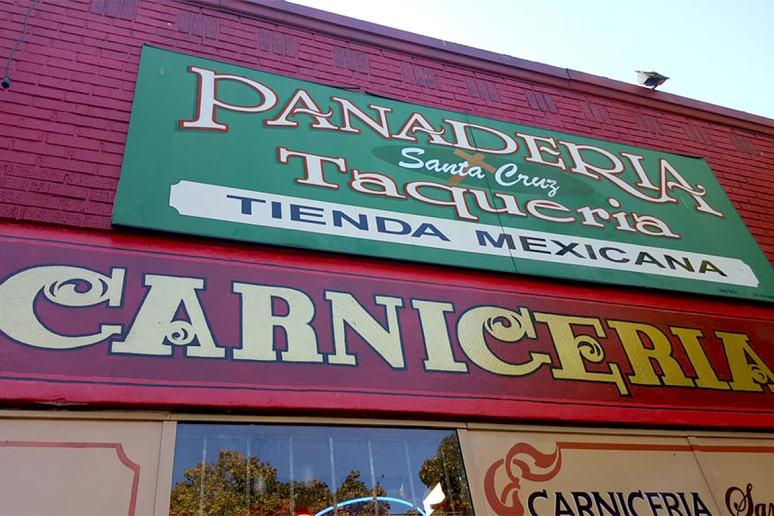 Oregon: Taqueria y Panaderia de La Santa Cruz, Portland