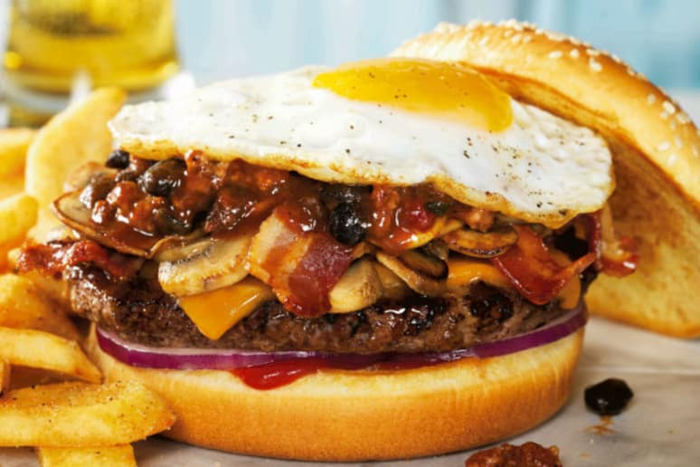 You Can Get a New Year's Hangover Burger at Red Robin