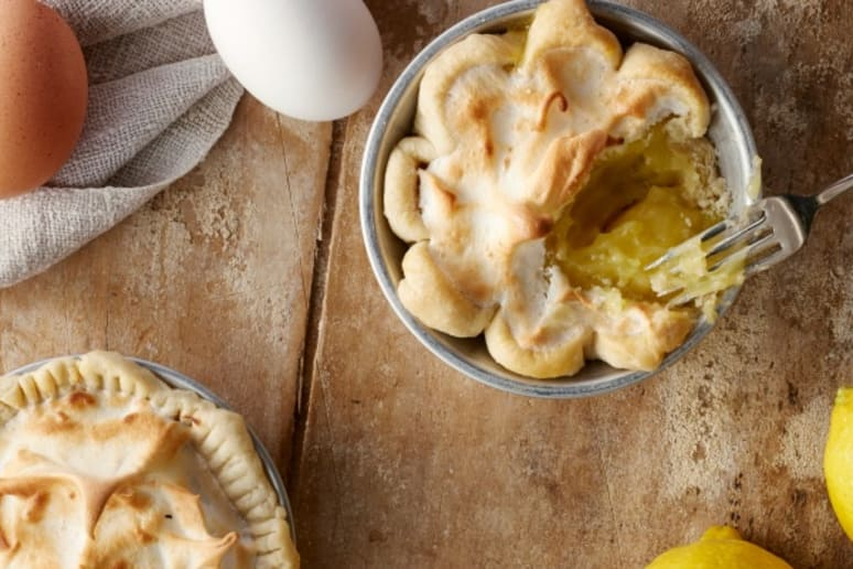 Mini-Lemon Meringue Pies