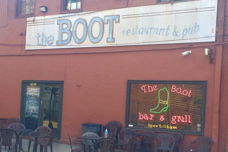 The Boot, Tulane University, New Orleans, La.