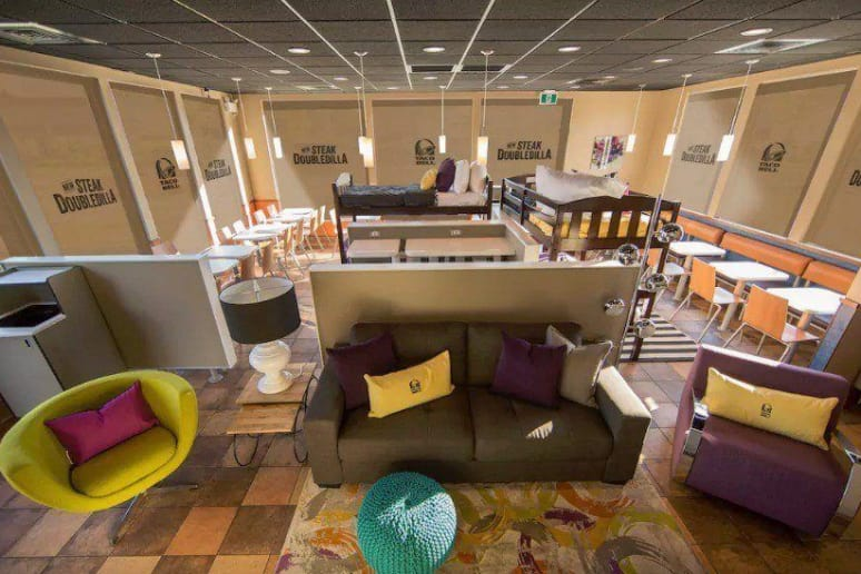 Taco Bell Airbnb