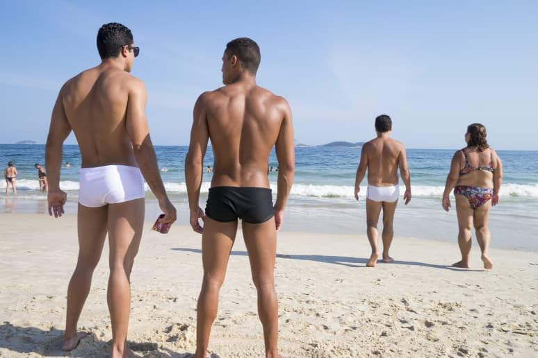 Speedos Only — France