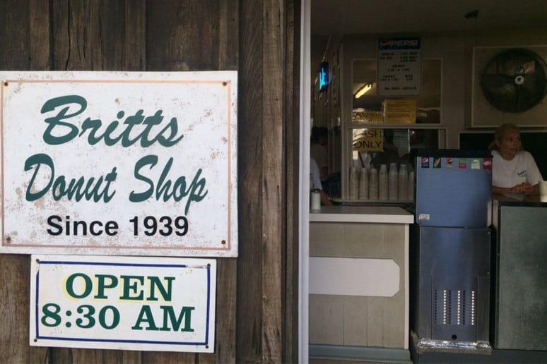 North Carolina: Britt's Donut Shop, Carolina Beach