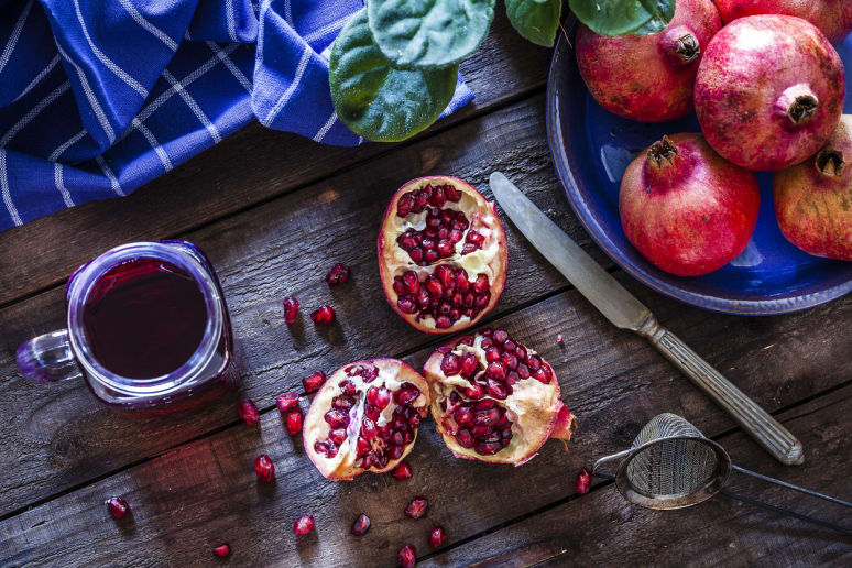 Incorporate Pomegranates Into Meals to Protect Your Skin