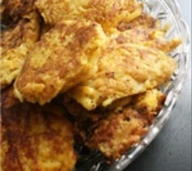 Butternut Squash Hashbrown Latkes