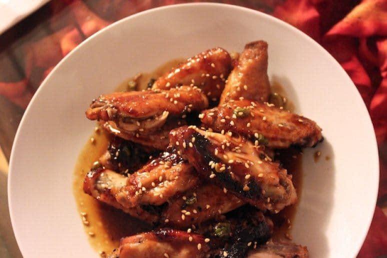 Chicken Wings With Honey-Teriyaki Glaze