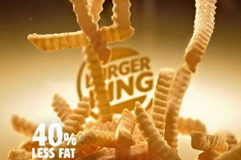 Most Burger Kings Take Healthier Fries Off Their Menu
