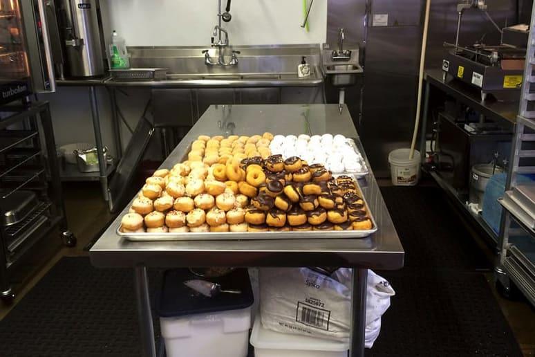 Wyoming: Delish Donuts & Coffee, Alpine