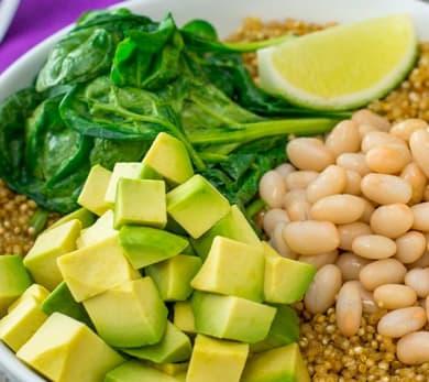 Smoky Avocado Quinoa Breakfast Bowl