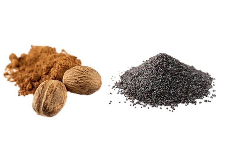 Nutmeg and Poppy Seeds