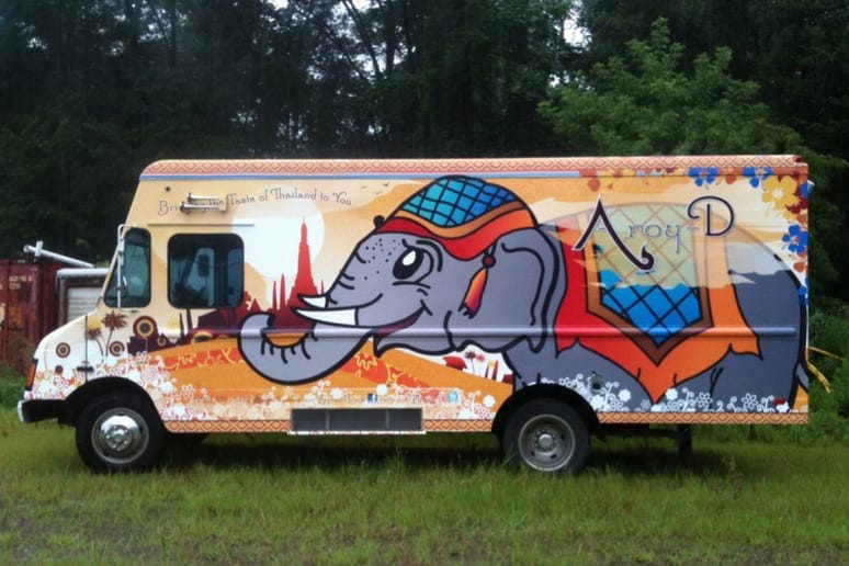 #90 Aroy-D, The Thai Elephant, N.J. (Various locations)