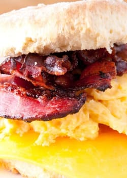 World's Best Bacon, Egg, and Cheese Biscuit