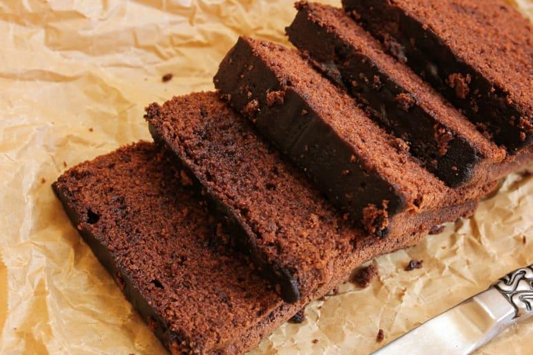 Chocolate Sour Cream Pound Cake