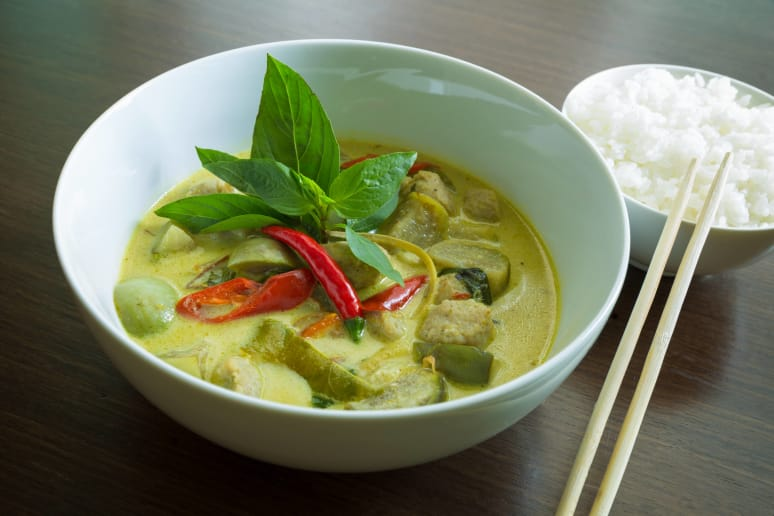 Thai Green Curry Chicken Recipe By The Daily Meal Staff