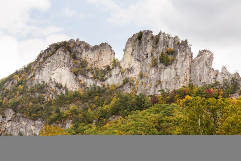 West Virginia: Seneca Rocks