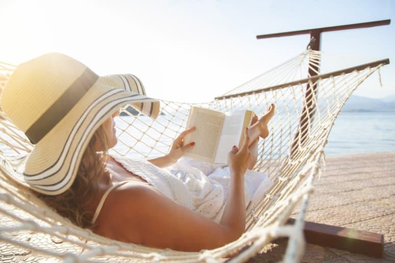 Read a Book (Preferably Outside)