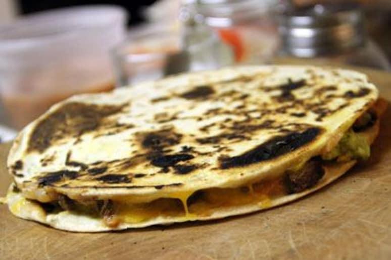 Best Ancho Skirt Steak Quesadilla