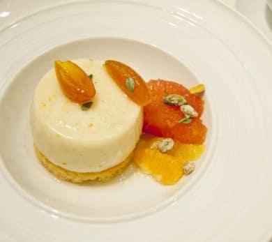 Yogurt-Orange Blossom Panna Cotta
