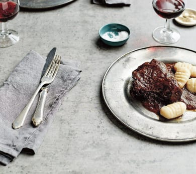 Slow-Cooked Beef Stew With Prunes and Apples