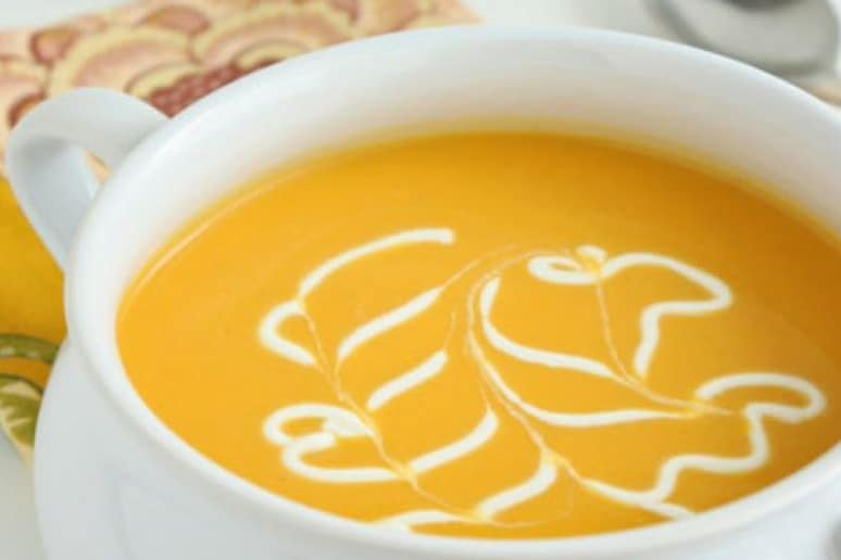Tis the season for warm and comforting soup. This soup would be an excellent main course for