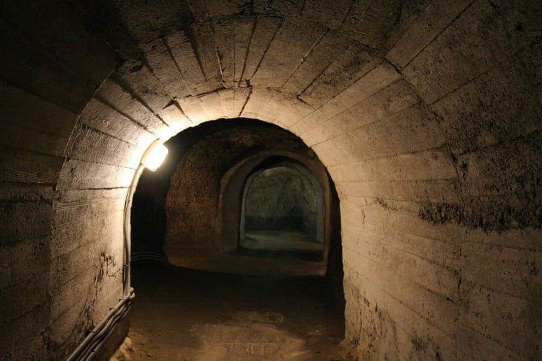 Znojmo Catacombs, Czech Republic