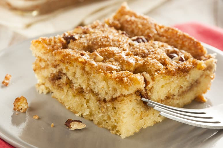 Banana-Walnut Coffeecake