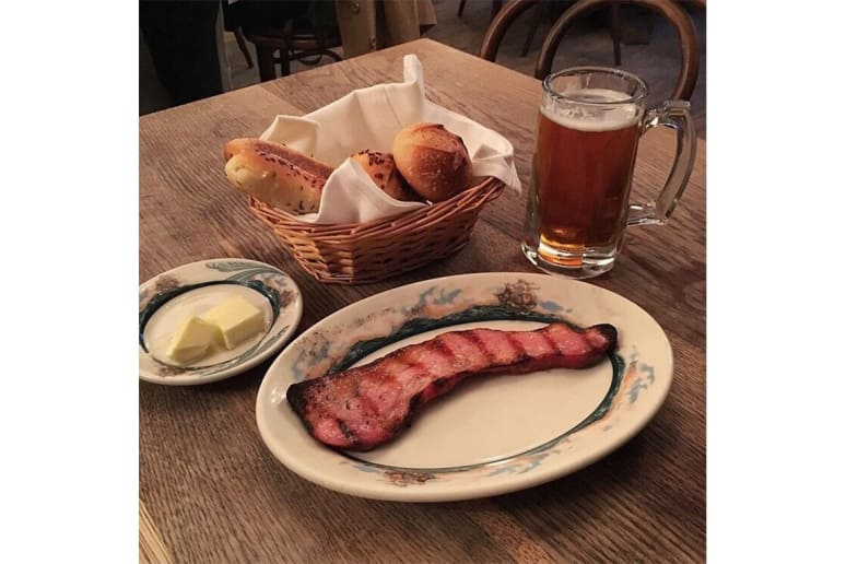 Thick-Cut Bacon: Peter Luger, Brooklyn, NY
