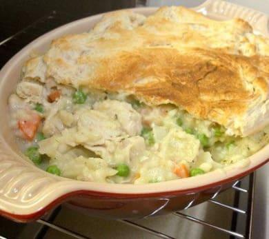 Chicken Pot Pie with Pillsbury Crust