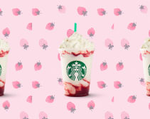starbucks strawberry frappuccino