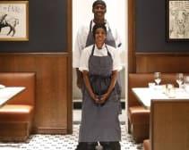 APL cooks Marcus Lewis and Zia Hughes