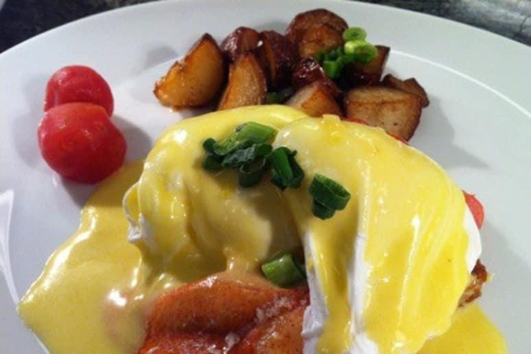 Lobster Eggs Benedict Recipe by Jelle Vandenbrouke