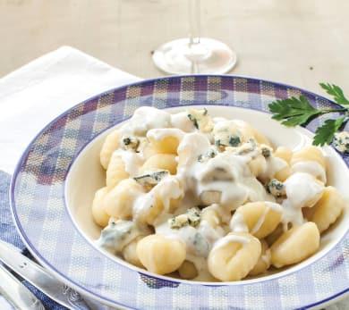 Pressure Cooker Gnocchi and Mushrooms