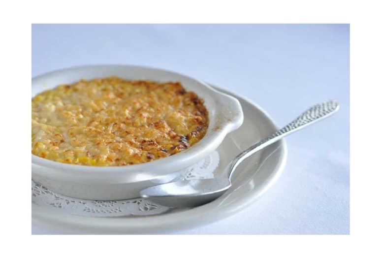 Creamed Corn: Killen's Steakhouse, Pearland, Texas