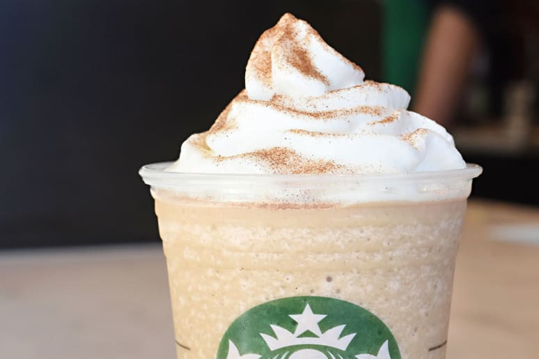 1. Cinnamon Roll Frappuccino Blended Coffee