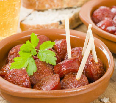 Slow-Cooker Sweet and Spicy Sausage Rounds
