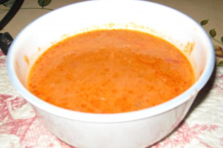 Old fashioned cream of tomato soup 98