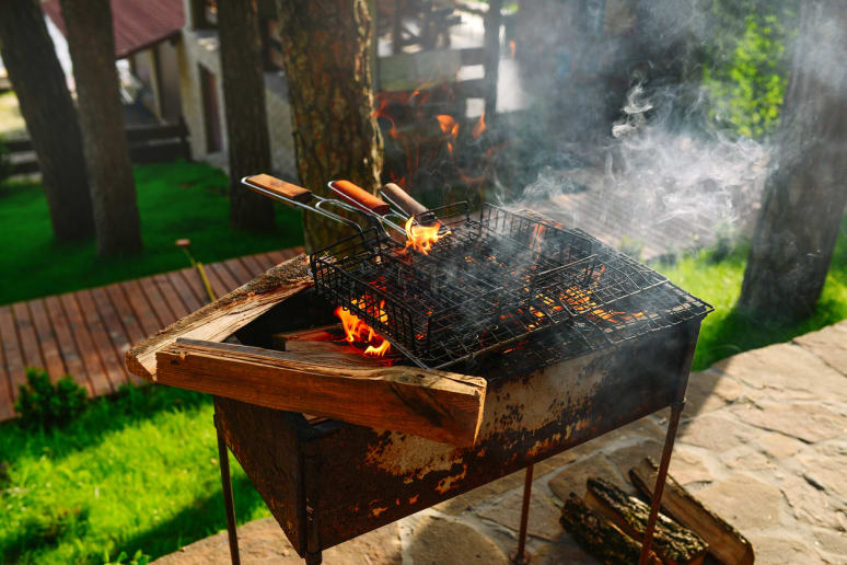 Keep All Flammable Items Away From the Grill
