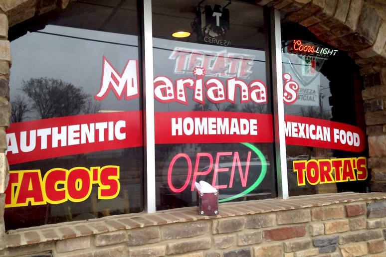Iowa: Tacos Mariana's, Des Moines
