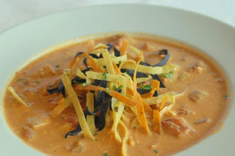 Oklahoma: Cheever's Café, Oklahoma City: Chicken Tortilla Soup