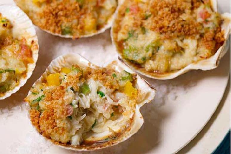 Stuffed Crab Shells
