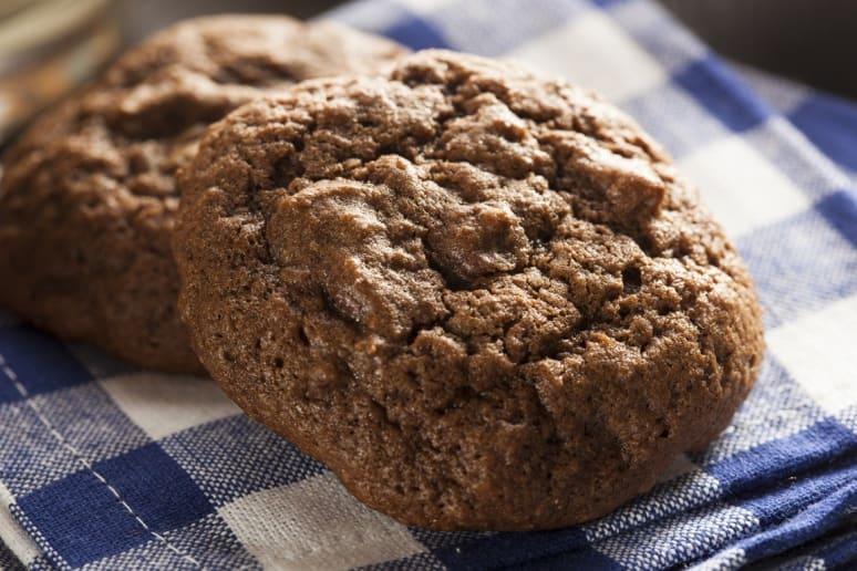 Triple Chocolate Avocado Cookies