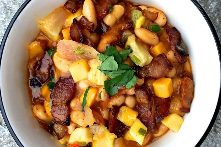 Bacon Pineapple Chili