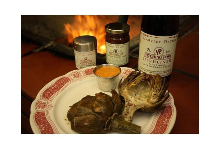 Vegetables: Hitching Post II Restaurant & Winery, Buellton, Calif.